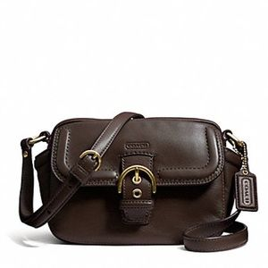 AUTHENTIC LIKE NEW COACH CAMPBELL LEATHER F25150